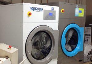 Lave-linge à la laverie Hepdale St Nazaire