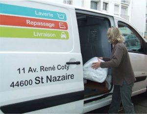 Camion de livraison pour les professionnels
